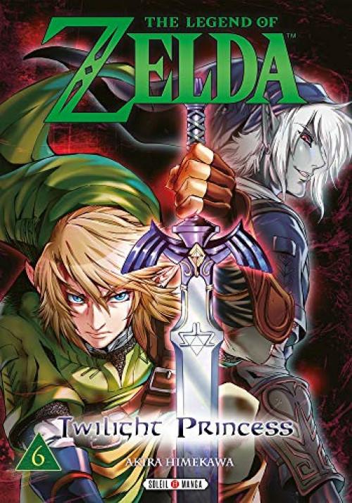Couverture de Legend of Zelda (The) - Twilight Princess -6- Tome 6