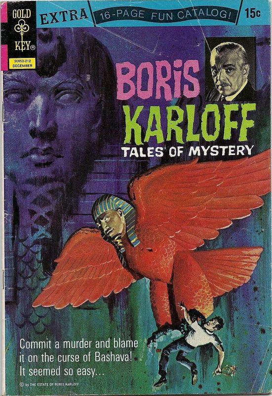 Couverture de Boris Karloff Tales of Mystery (1963) -44- (sans titre)
