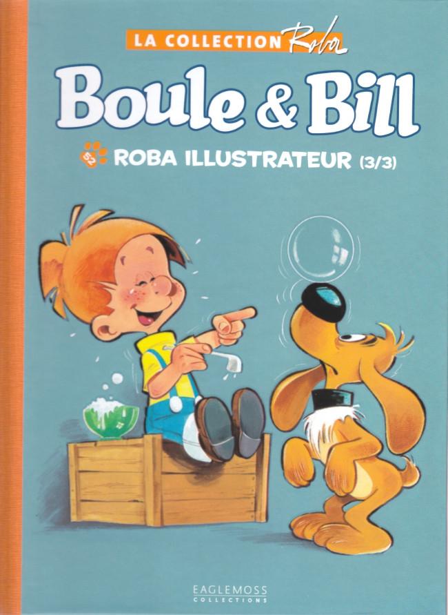 Couverture de Boule et Bill -15- (Collection Eaglemoss) -5252- Roba illustrateur (3/3)