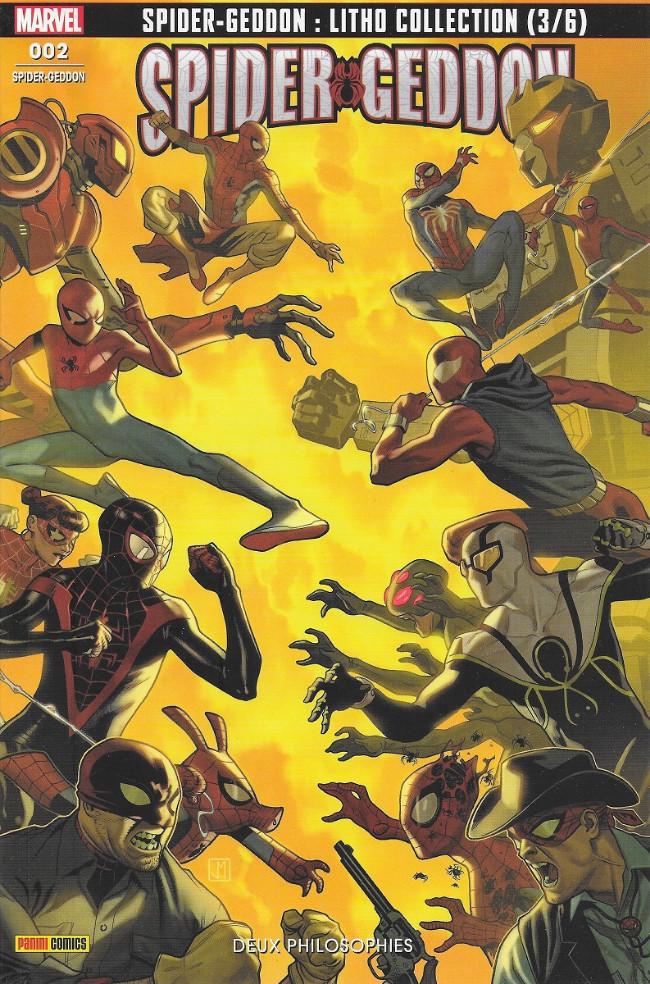 Couverture de Spider-geddon -2- Deux philosophies