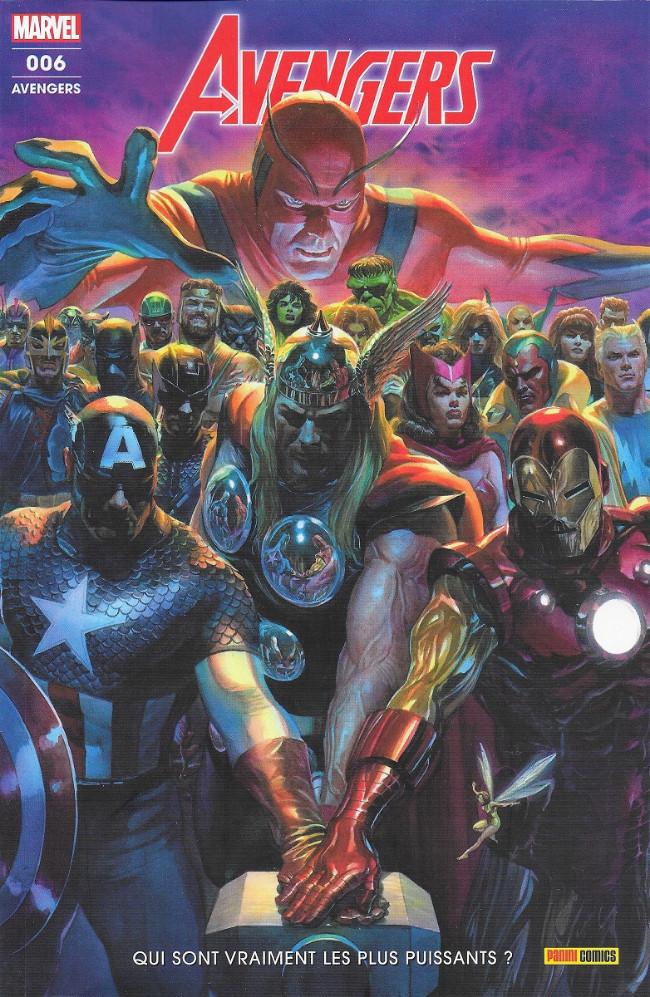 Couverture de Avengers (Marvel France - 2019) -6- Qui sont vraiment les plus puissants ?