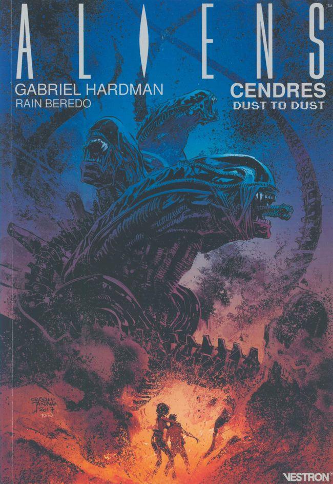 Couverture de Aliens : Cendres
