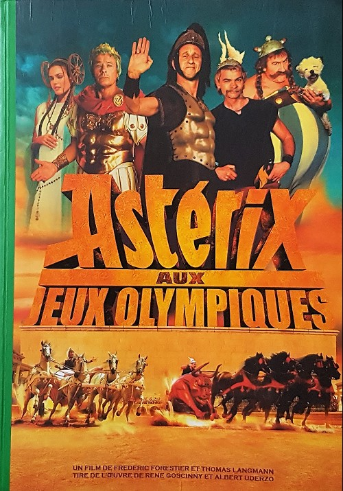 Couverture de Astérix (Hors Série) -C07 Bis- Astérix aux Jeux Olympiques