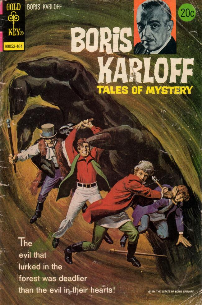 Couverture de Boris Karloff Tales of Mystery (1963) -53- (sans titre)
