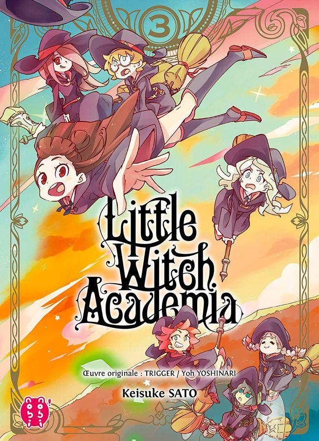 Couverture de Little Witch Academia -3- Tome 3