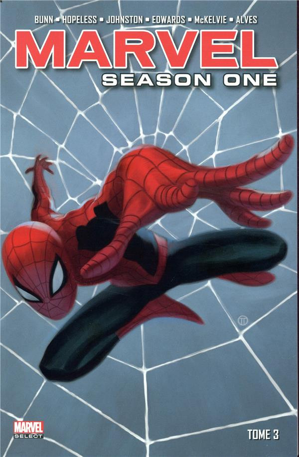 Couverture de Season One (100% Marvel) -INT03- Tome 3