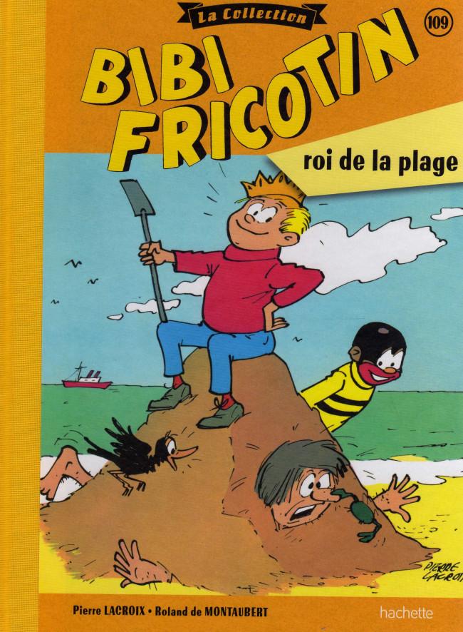 Couverture de Bibi Fricotin (Hachette - la collection) -109- Bibi Fricotin roi de la plage