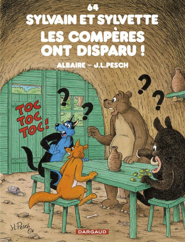 Couverture de Sylvain et Sylvette -64- Les compères ont disparu