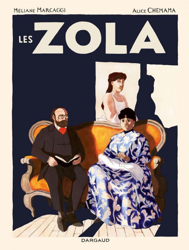 Couverture de Les zola - Les Zola
