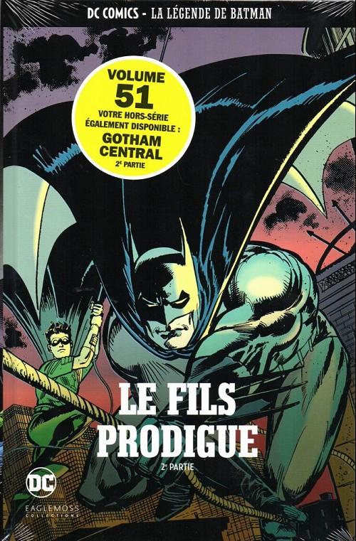Couverture de DC Comics - La légende de Batman -5129- Le fils prodigue - 2ème partie