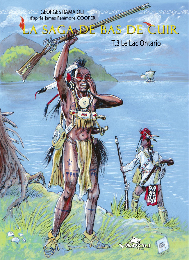 Couverture de La saga de Bas de Cuir -3TL- le lac Ontario