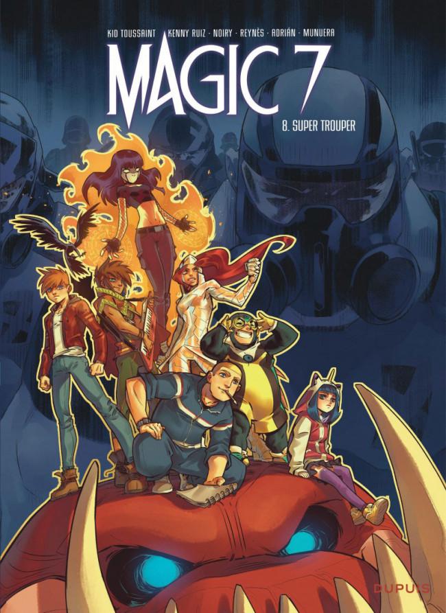 Couverture de Magic 7 -8- Super trouper