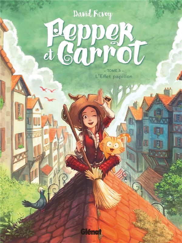 Couverture de Pepper et Carrot -3- L'effet papillon