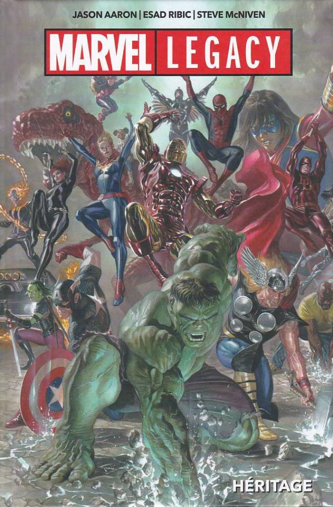 Couverture de Marvel Legacy - Heritage