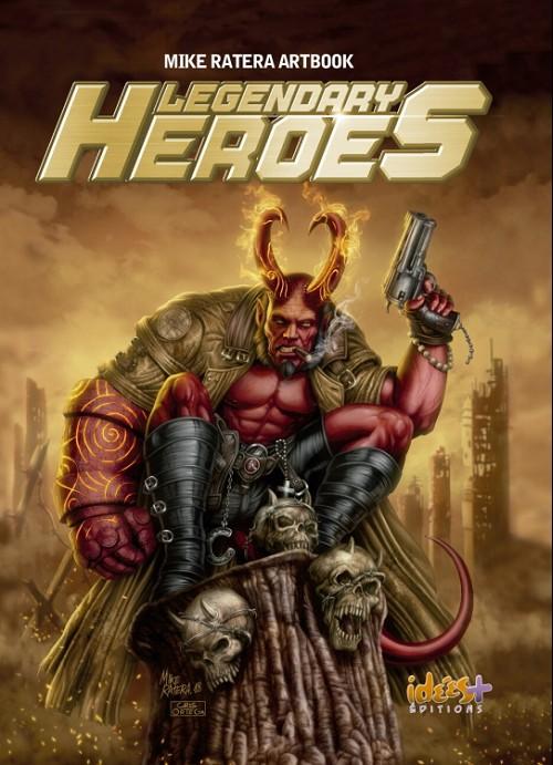 Couverture de (AUT) Ratera, Mike - Legendary heroes