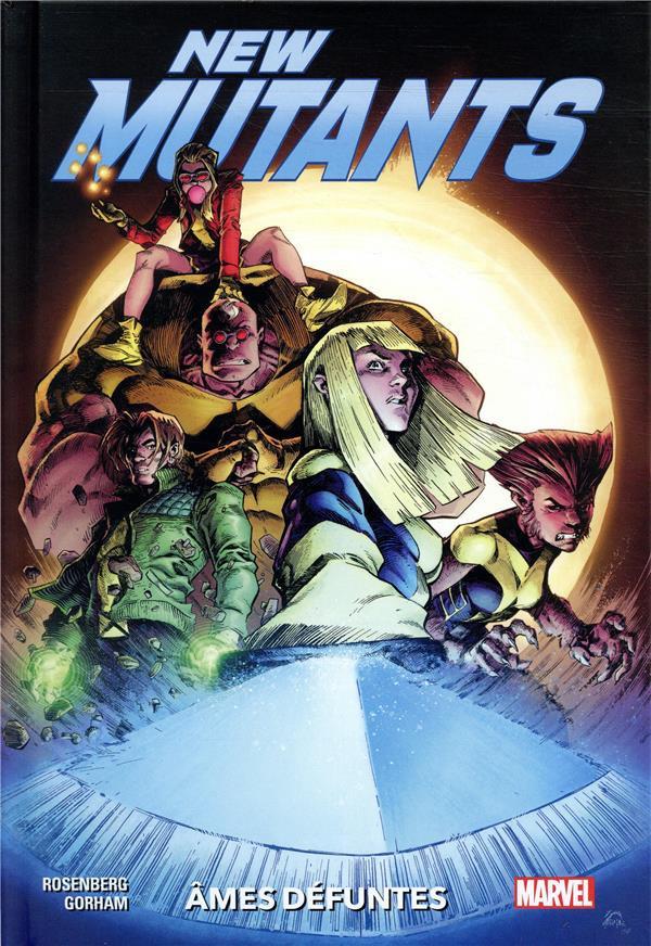 Couverture de New mutants - âmes défuntes