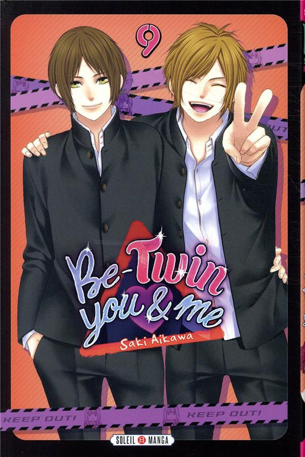 Couverture de Be-twin you & me -9- Tome 9