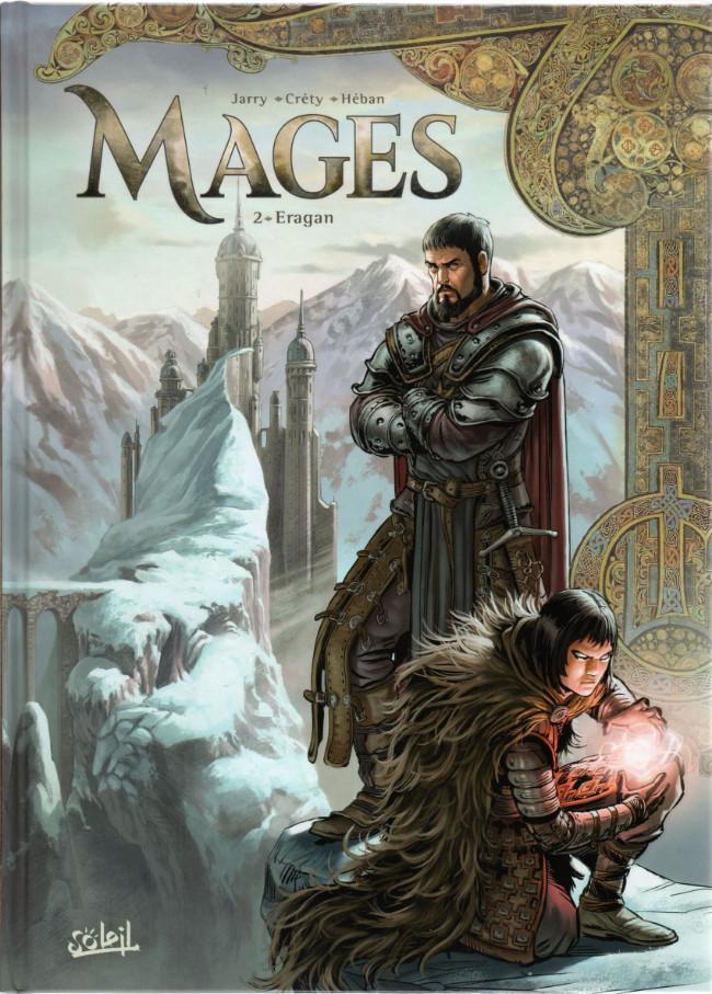 Couverture de Mages -2- Eragan