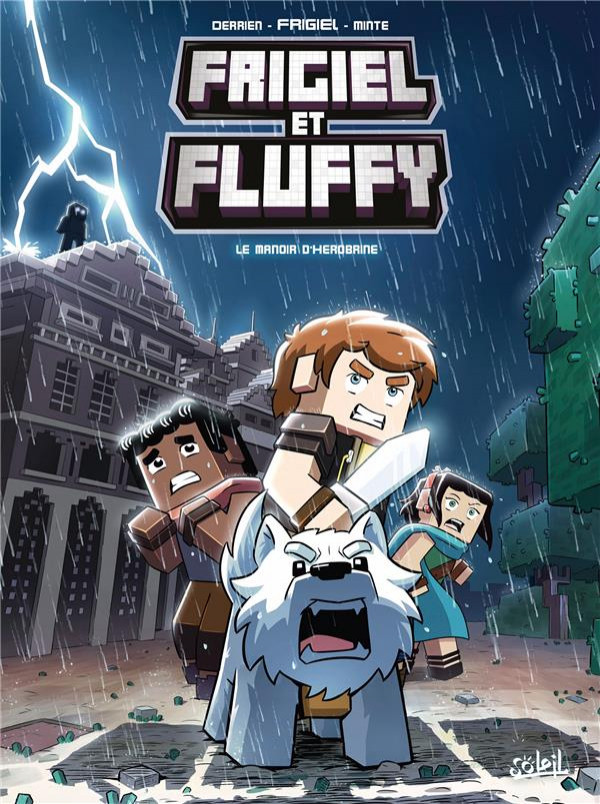 Couverture de Frigiel et Fluffy -6- Le manoir d'herobrine