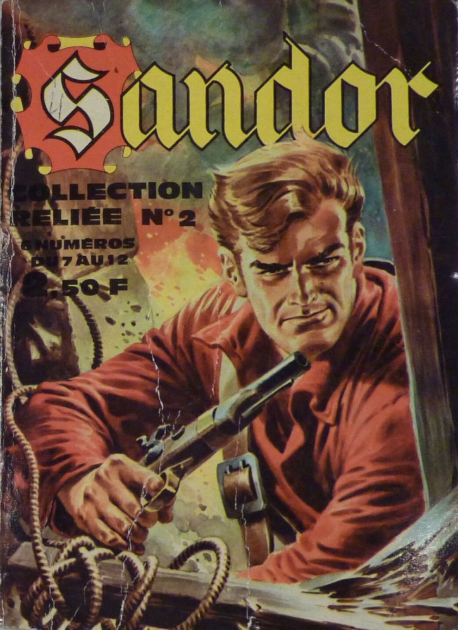 Couverture de Sandor -Rec02- Collection reliée N°2 (du n°7 au n°12)