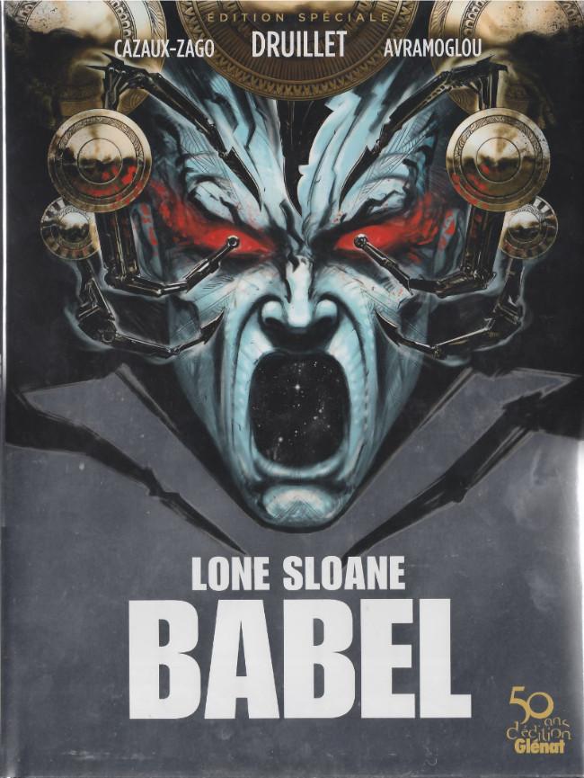 Couverture de Lone Sloane -10- Babel