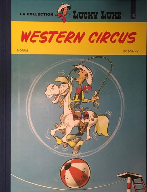 Couverture de Lucky Luke - La collection (Hachette 2018) -3613- Western circus
