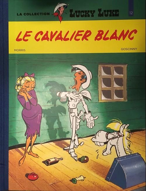 Couverture de Lucky Luke - La collection (Hachette 2018) -4312- Le cavalier blanc