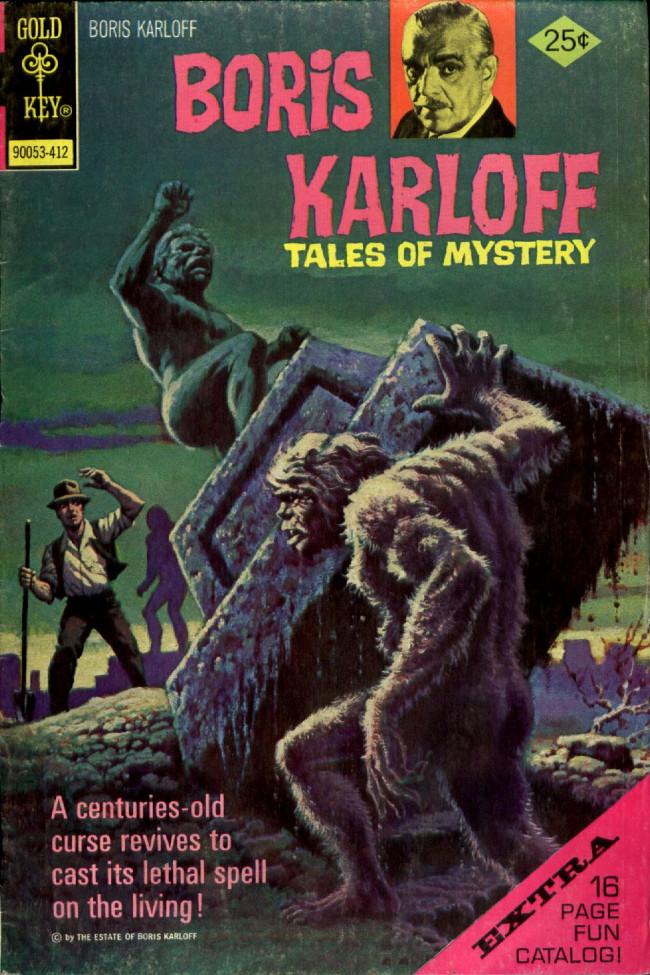 Couverture de Boris Karloff Tales of Mystery (1963) -58- (sans titre)