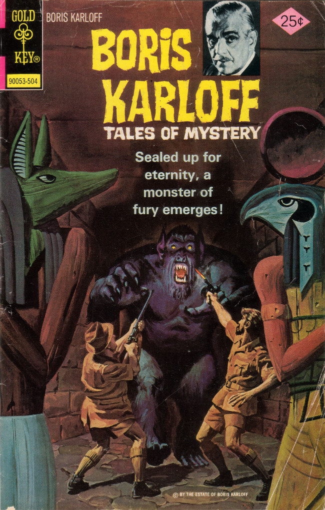 Couverture de Boris Karloff Tales of Mystery (1963) -60- Sealed Up for Eternity, a Monster of Fury Emerges!