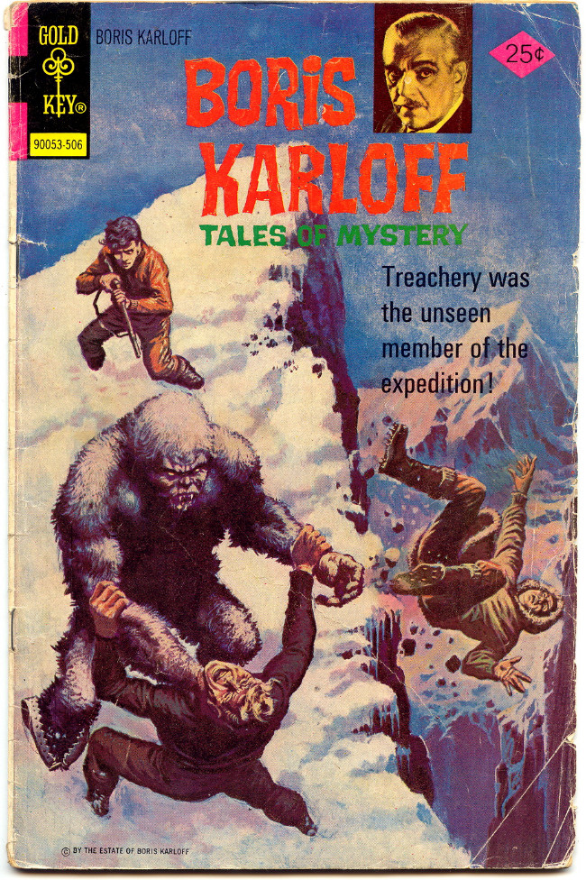 Couverture de Boris Karloff Tales of Mystery (1963) -61- Treachery Was the Unseen Member of the Expedition!