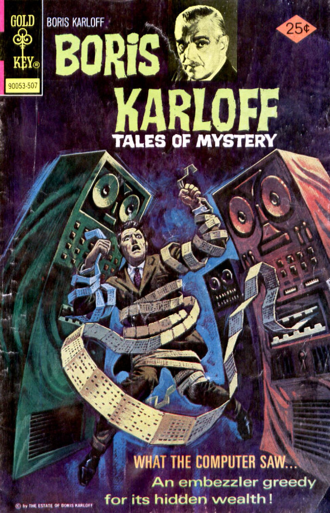 Couverture de Boris Karloff Tales of Mystery (1963) -62- What the Computer Saw...