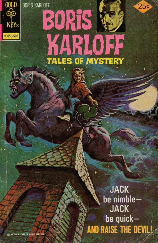 Couverture de Boris Karloff Tales of Mystery (1963) -63- Jack Be Nimble -- Jack Be Quick -- And Raise the Devil!