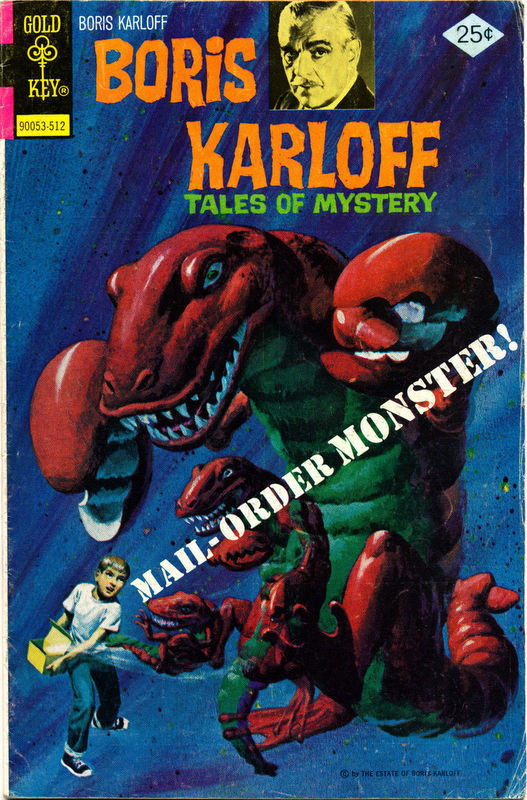 Couverture de Boris Karloff Tales of Mystery (1963) -65- Mail-Order Monster!