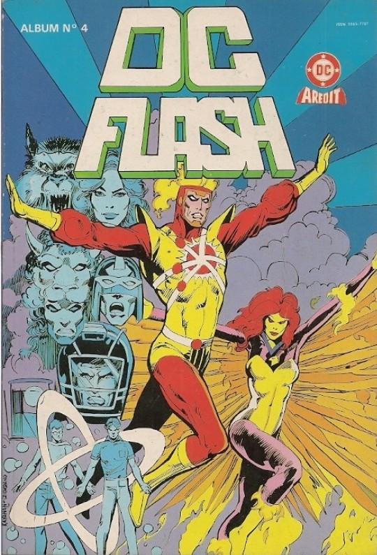 Couverture de DC Flash -Rec04- Album N°4 (du n°7 au n°8)