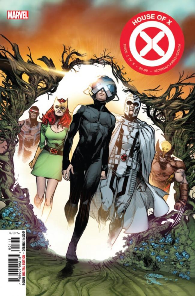 Couverture de House of X (Marvel comics - 2019) -1- The House That Xavier Built