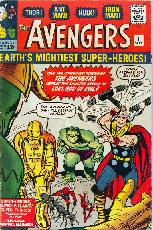 Couverture de Avengers (The) (1963) -1-