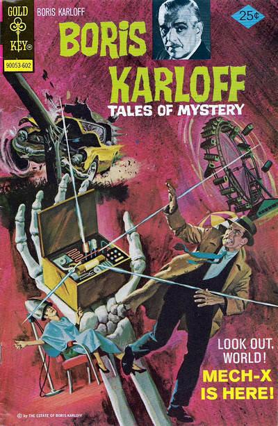 Couverture de Boris Karloff Tales of Mystery (1963) -66- Mech-X Is Here!