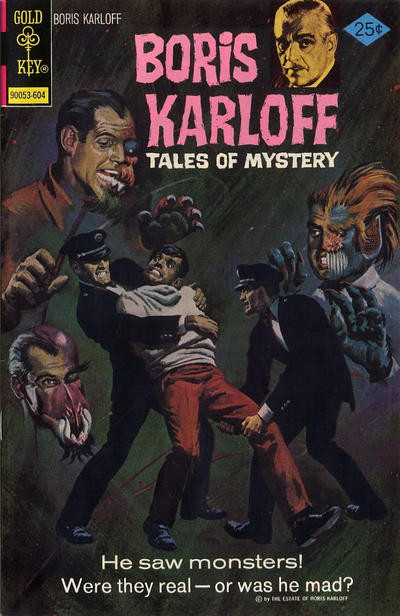 Couverture de Boris Karloff Tales of Mystery (1963) -67- He Saw Monsters!
