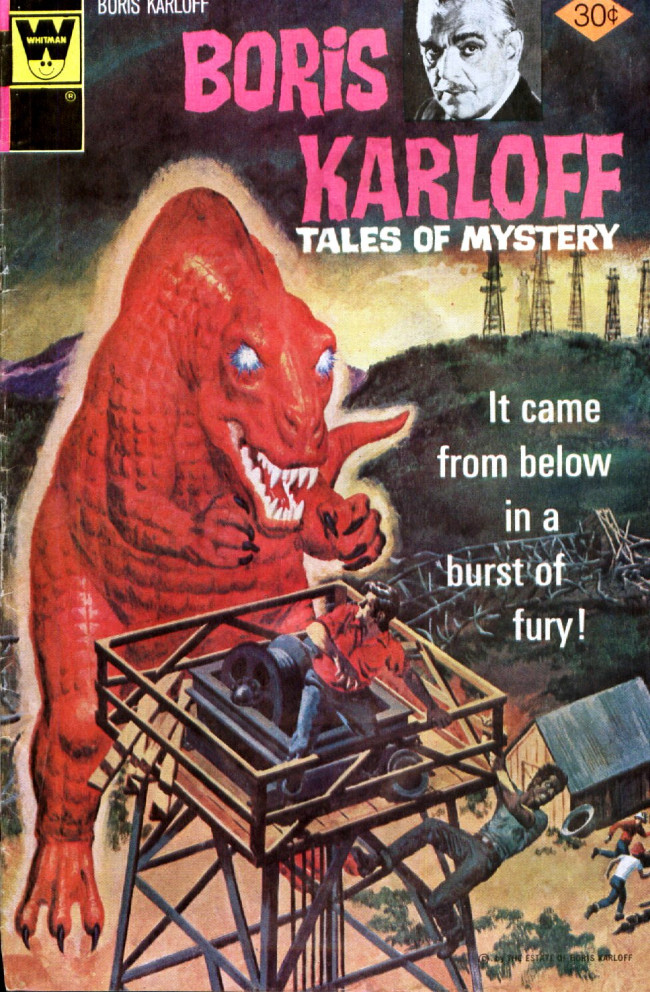 Couverture de Boris Karloff Tales of Mystery (1963) -71- It Came from Below in a Burst of Fury!