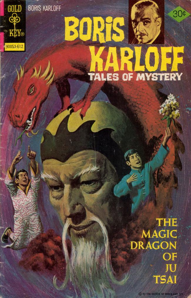 Couverture de Boris Karloff Tales of Mystery (1963) -72- The Magic Dragon of Ju Tsai
