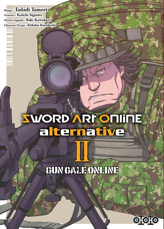 Couverture de Sword Art Online alternative : Gun Gale Online -2- Tome 2