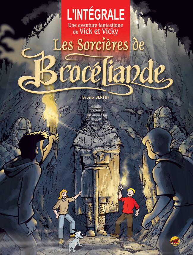 Couverture de Vick et Vicky (Les aventures de) - Les sorcières de Brocéliande