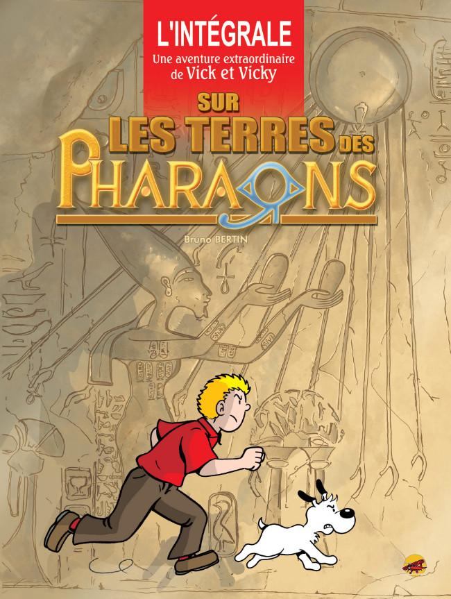 Couverture de Vick et Vicky (Les aventures de) - Sur les terres des Pharaons
