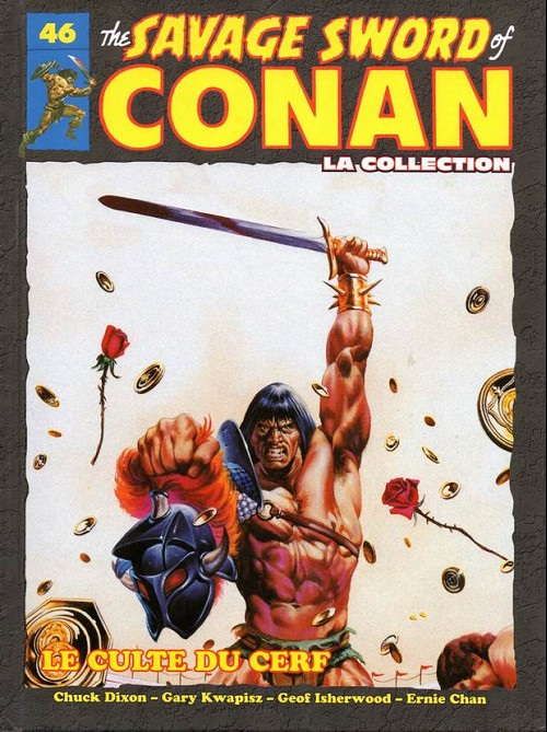 Couverture de Savage Sword of Conan (The) - La Collection (Hachette) -46- Le culte du cerf