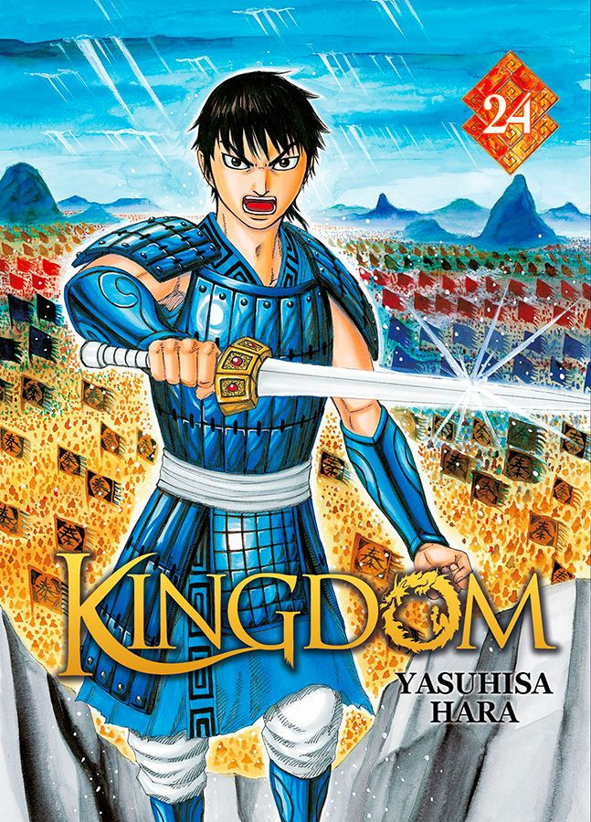 Couverture de Kingdom -24- Tome 24