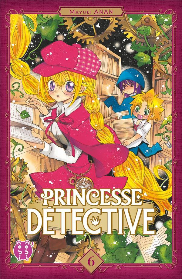 Couverture de Princesse détective -6- Tome 6