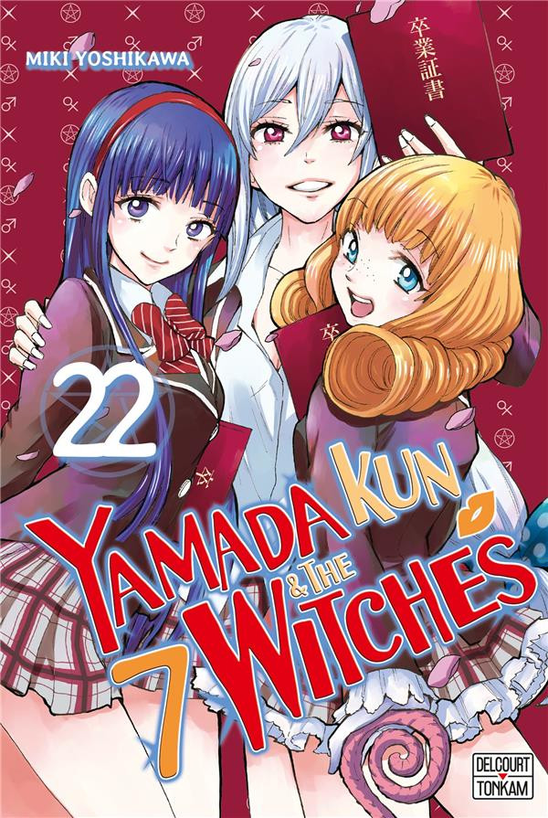 Couverture de Yamada kun & the 7 Witches -22- Tome 22