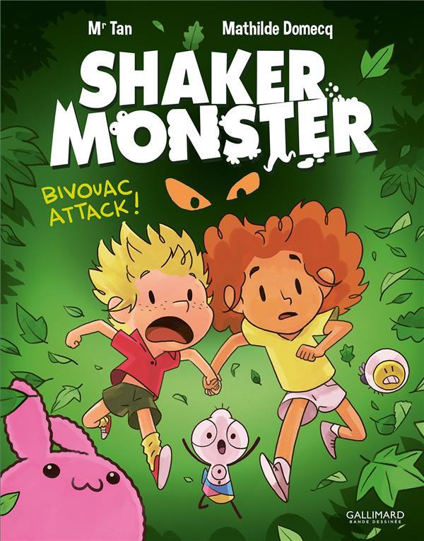 Couverture de Shaker Monster -4- Bivouac attack !