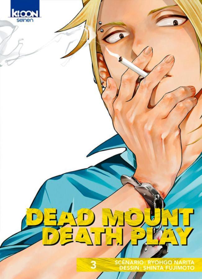 Couverture de Dead Mount Death Play -3- Tome 3