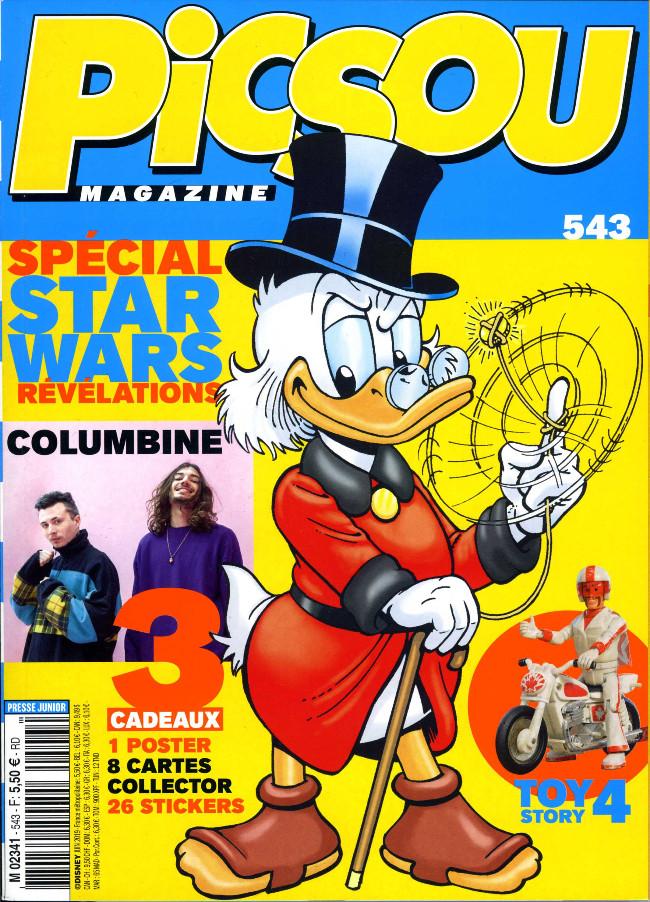 Couverture de Picsou Magazine -543- Picsou Magazine n°543